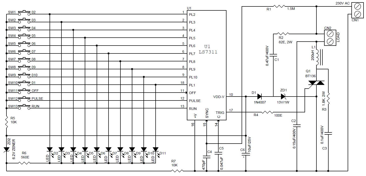 AC-MOTOR-CONTROLLER-USING-LS7311-SCH - Electronics-Lab