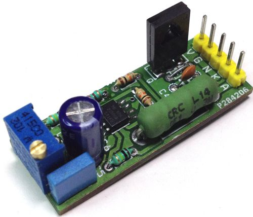 Constant Current Laser Diode Driver Circuit Using OPA2350 OpAmp