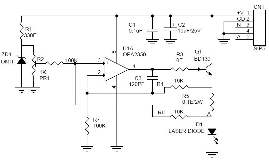 Schematic: Laser Diode Wiring Diagram At Goccuoi.net