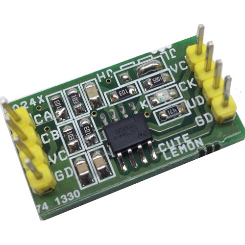 CMOS-TTL QUADRATURE ENCODER USING LS7084