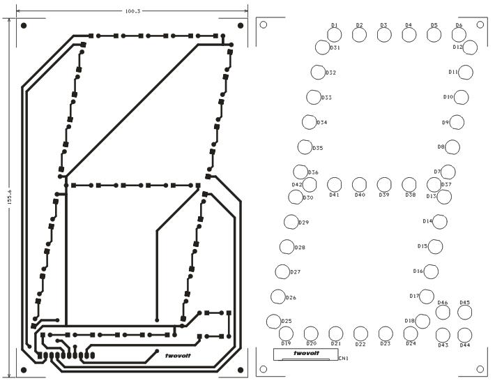 led based large size 7 segment display