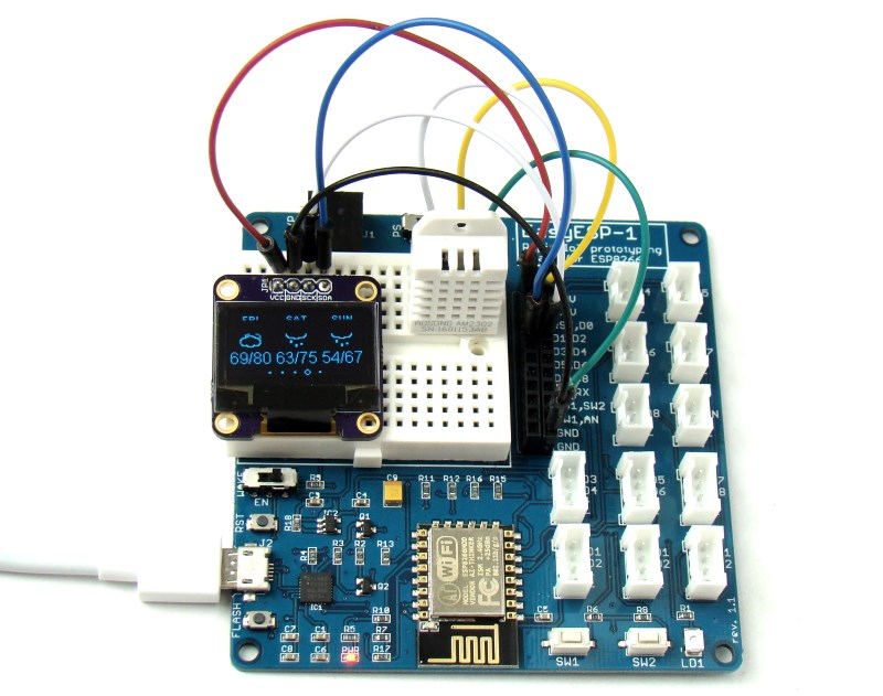 EasyESP-1: A beginner's prototyping board for ESP8266