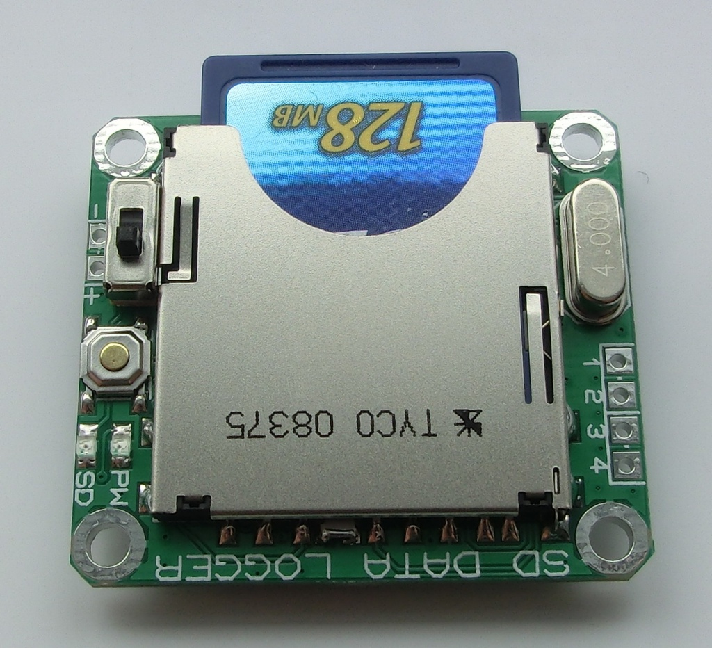 PIC SD CARD DATA LOGGER