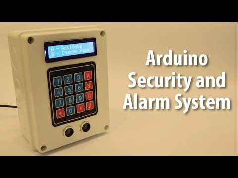 Alarm System Powered By Arduino Electronics Lab