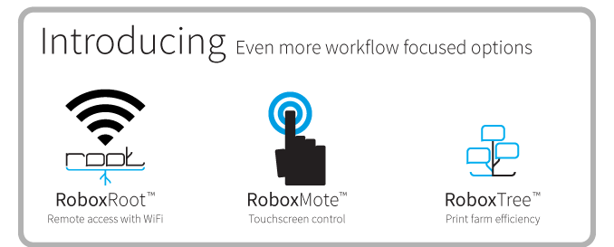 A New Era of 3D Printing With Cel Robox's Root, Mote and Tree!