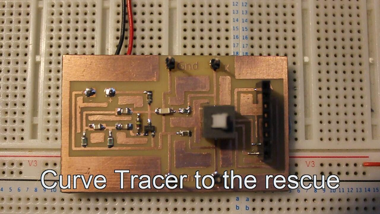 Diy Generic Curve Tracer Electronics Lab