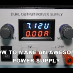 DIY power supply with 3D printed enclosure
