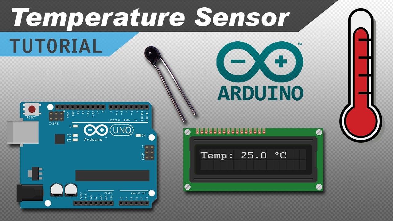 Make an Arduino Temperature Sensor (Thermistor Tutorial)