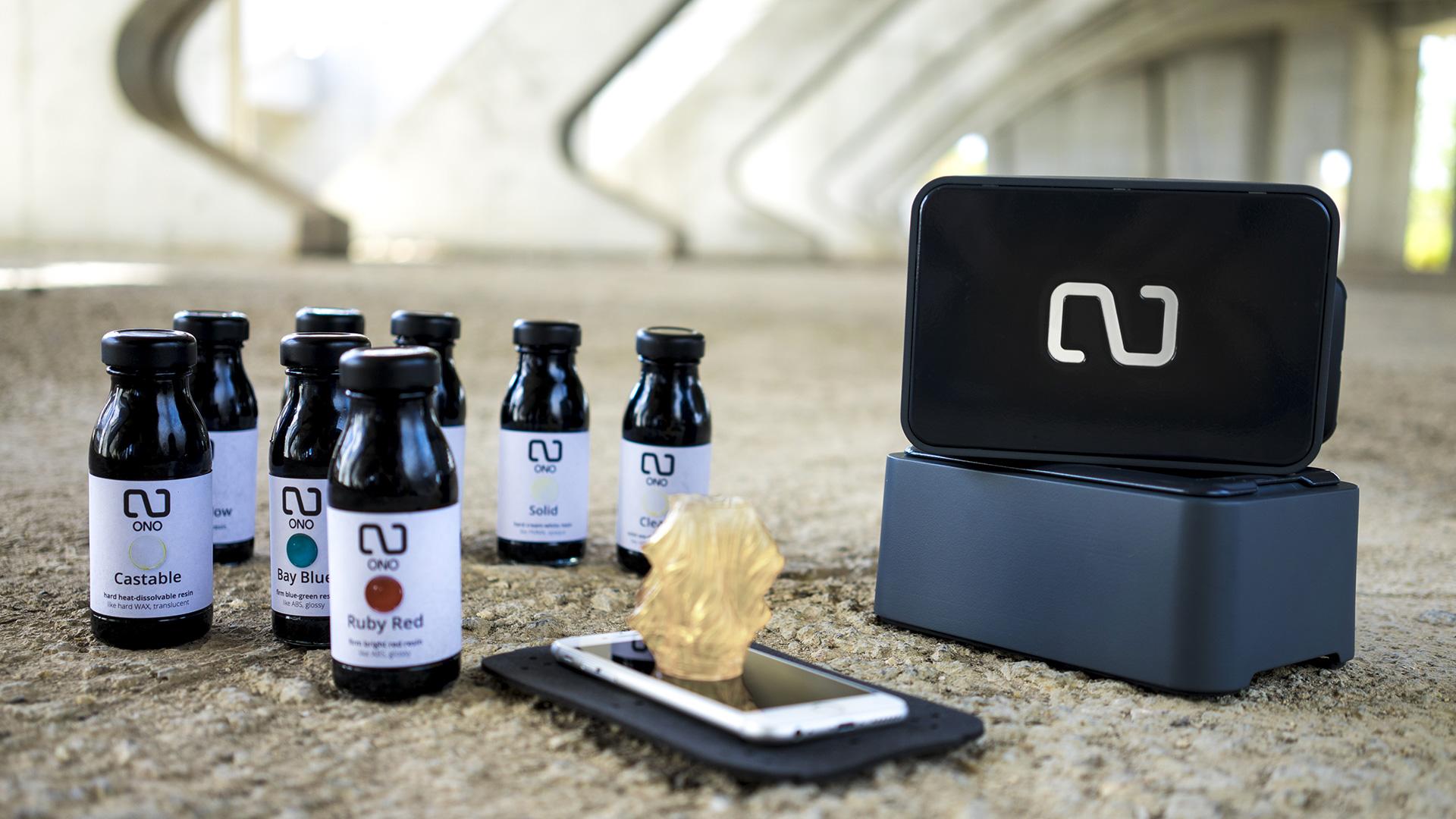 ONO, $99 Smartphone-Powered 3D Printer