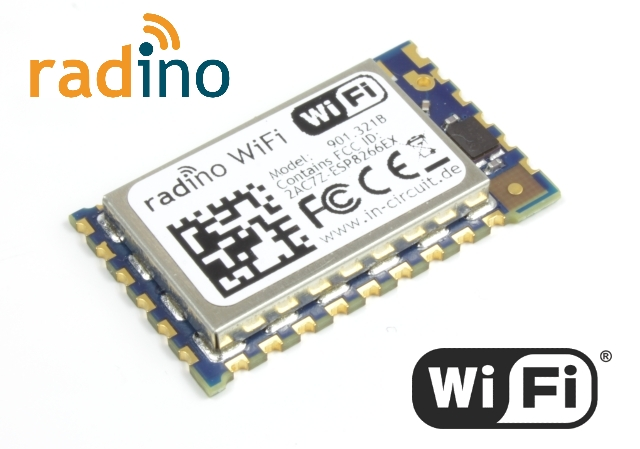 Radino WiFi : The Arduino compatible WiFi Module
