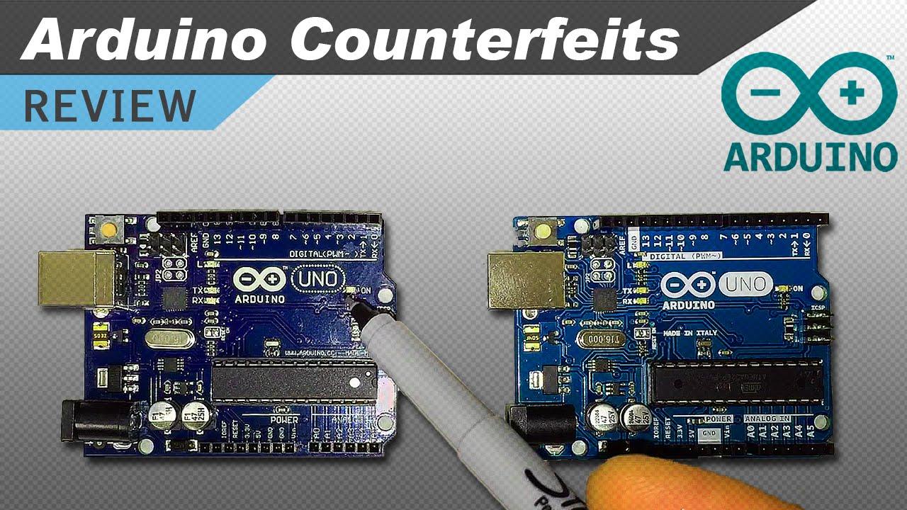 Real vs fake arduino test electronics lab