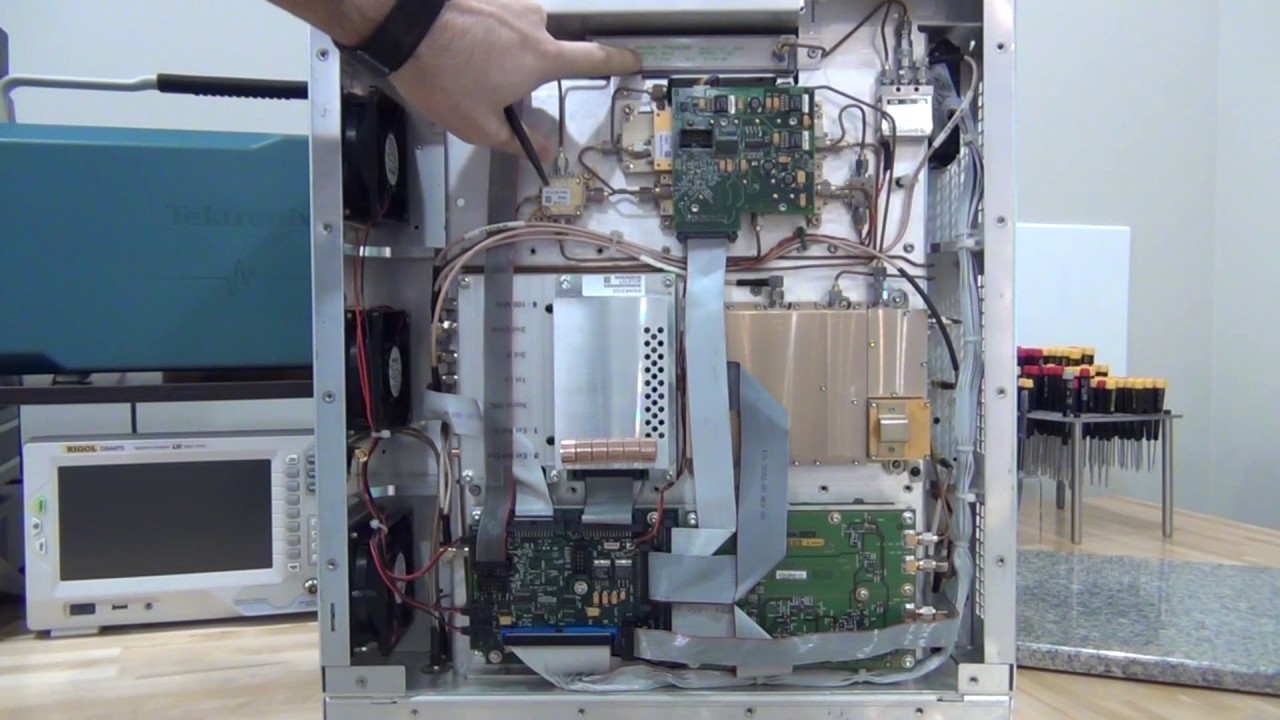 Teardown, Repair and Experiments with a Tektronix RSA 6114A Real-Time Spectrum Analyzer