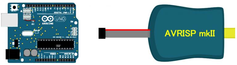 Make the AVRISP mkII Clone from Arduino UNO