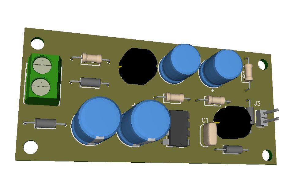 12V @ 120mA Transformerless Power Supply