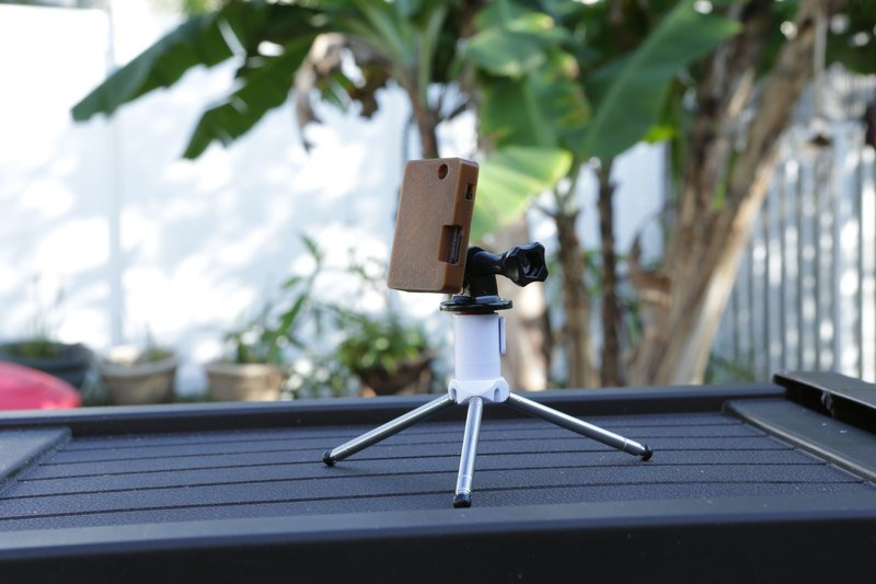 Building A Tiny Portable Time-lapse Camera