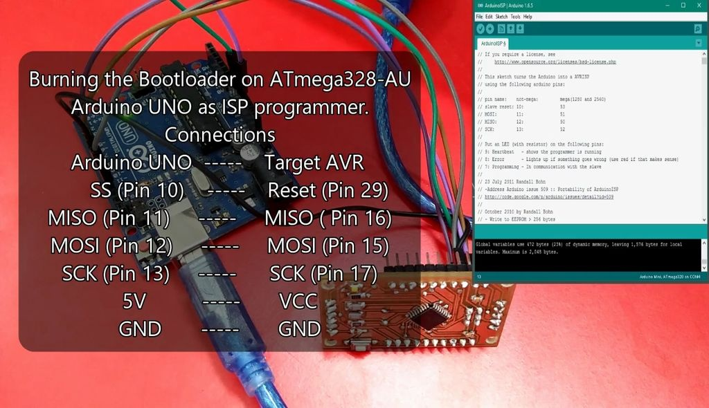 Follow this instruction to burn bootloader