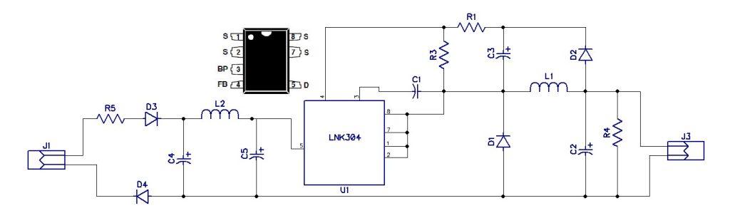 12v 120ma Transformerless Power Supply Electronics Lab