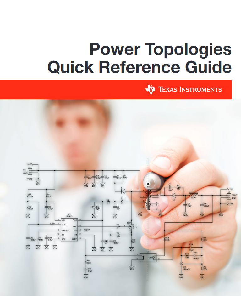 Power Topologies Quick Reference Guide from TI