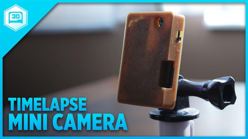 Building A Tiny Portable Time-lapse Camera