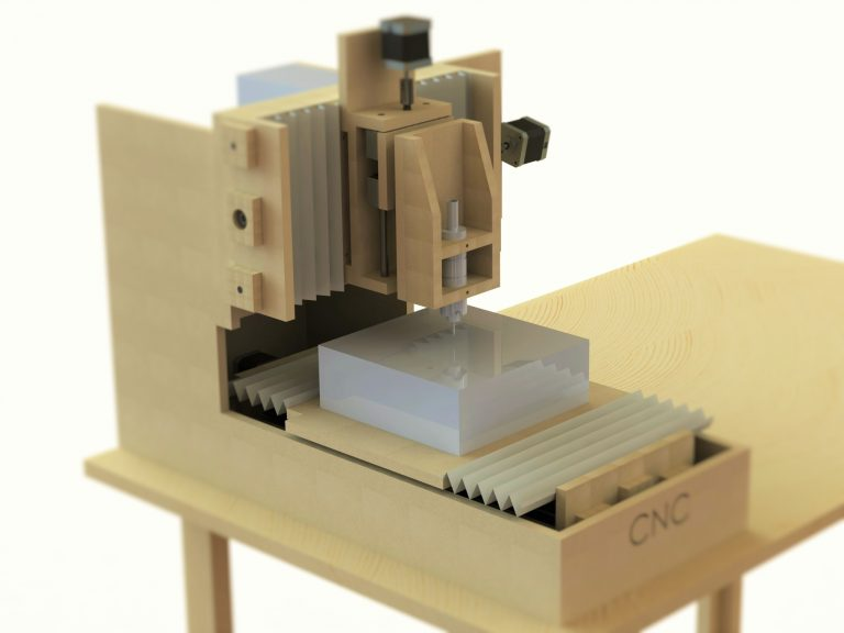 DIY Arduino-Based Desktop CNC Router