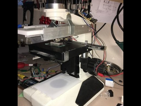 Make Your Own Laser Scanning Microscope