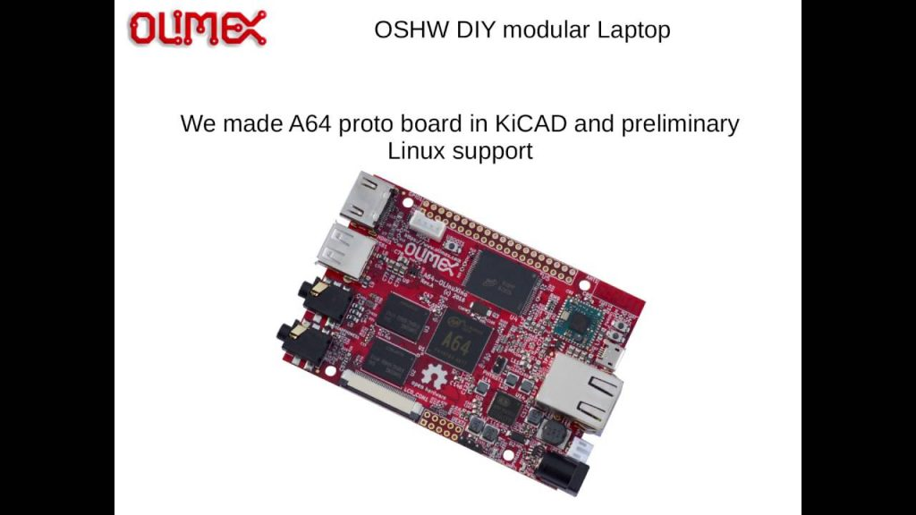 Open Source DIY Laptop Kit By Olimex