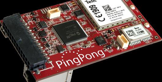 PingPong - The versatile IOT Board