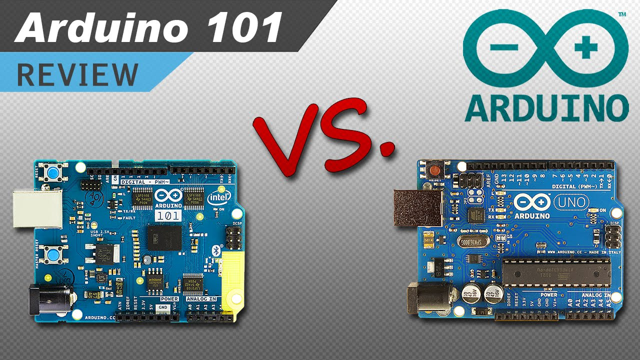 The New Arduino 101 (Genuino 101) – Unboxing, Set Up, and Comparing it to the Arduino Uno