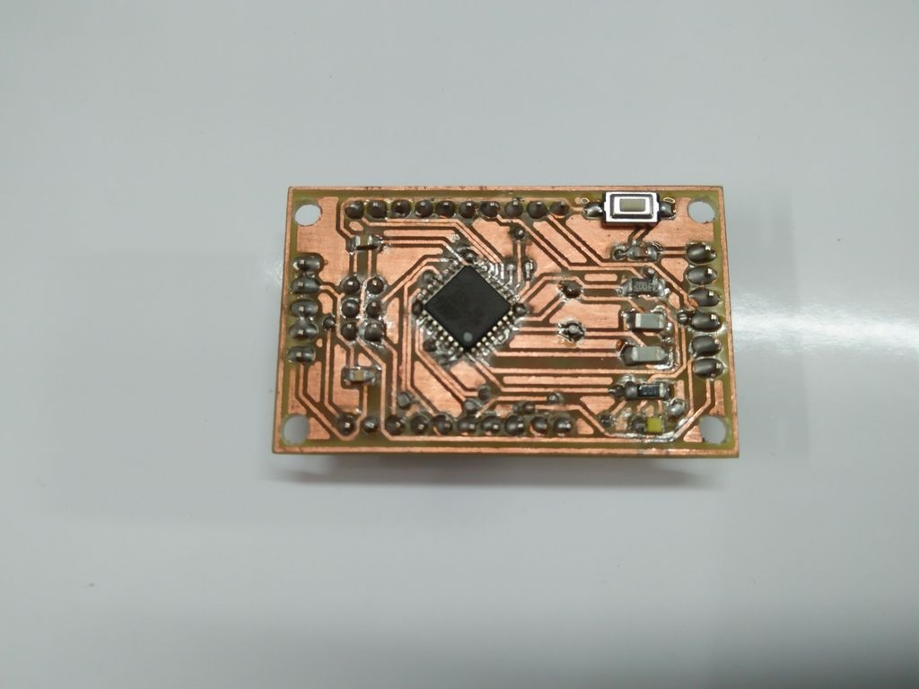 Upper layer of PCB