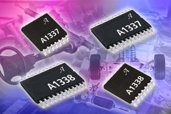 Full-360˚ angle sensor ICs
