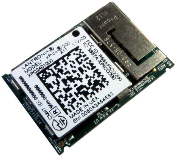 Embedded IoT gateway, in a 17 x 25 mm footprint