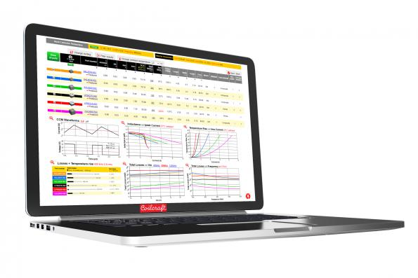 Coilcraft.com – Power inductor selection tool adds performance data