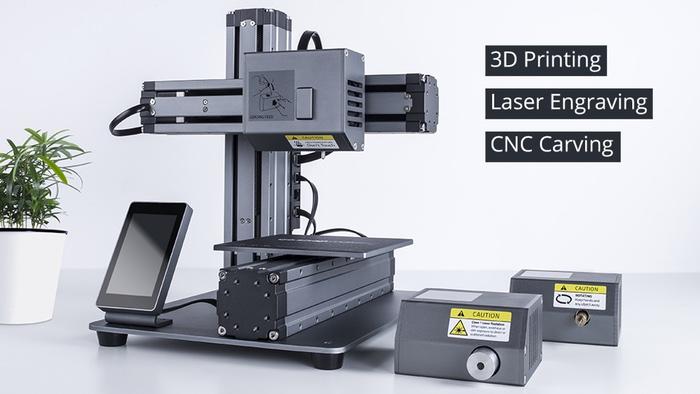 Snapmaker, The Modular & Multi-Functional 3D Printer