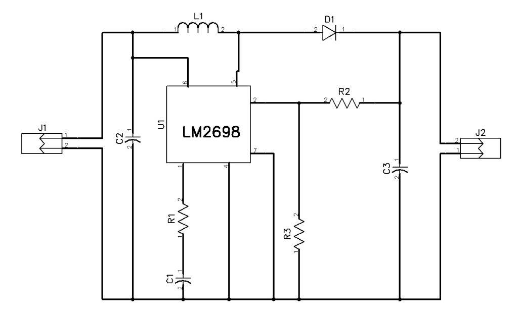 5V to 12V @400mA Boost Converter