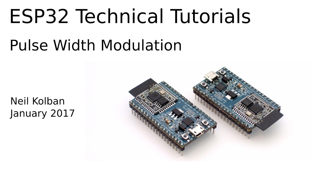 ESP32 and Pulse Width Modulation