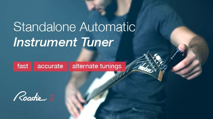 Tune Your String Instruments Perfectly With Roadie Tuner