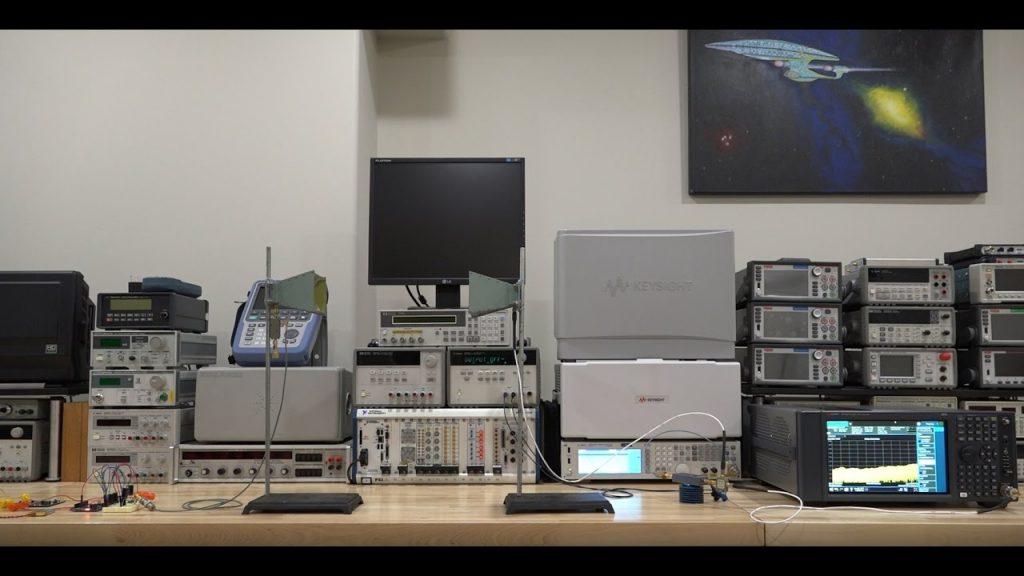 Keysight MXA signal analyzer / Spectrum analyzer review, analysis & experiments