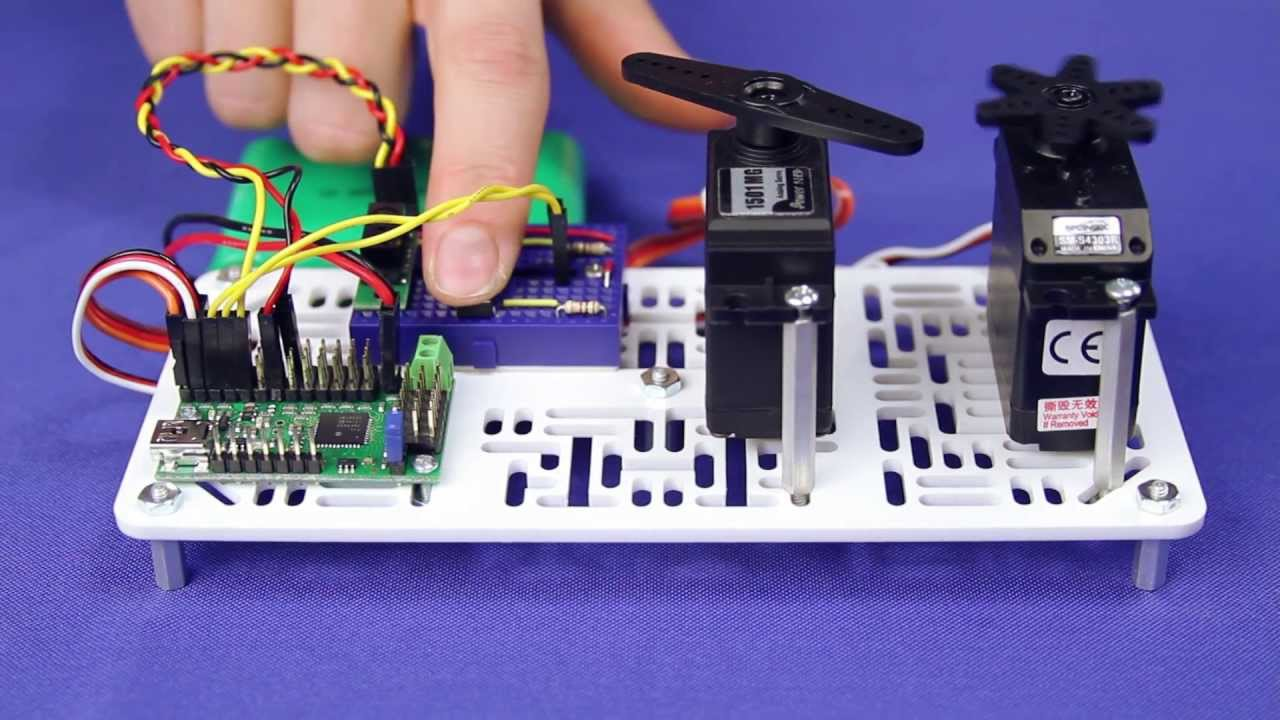 Micro Maestro 6-Channel USB Servo Controller - Electronics ...