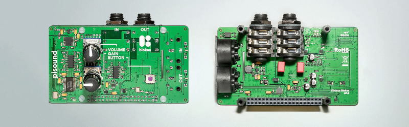 PiSound – Audio Card For Raspberry Pi