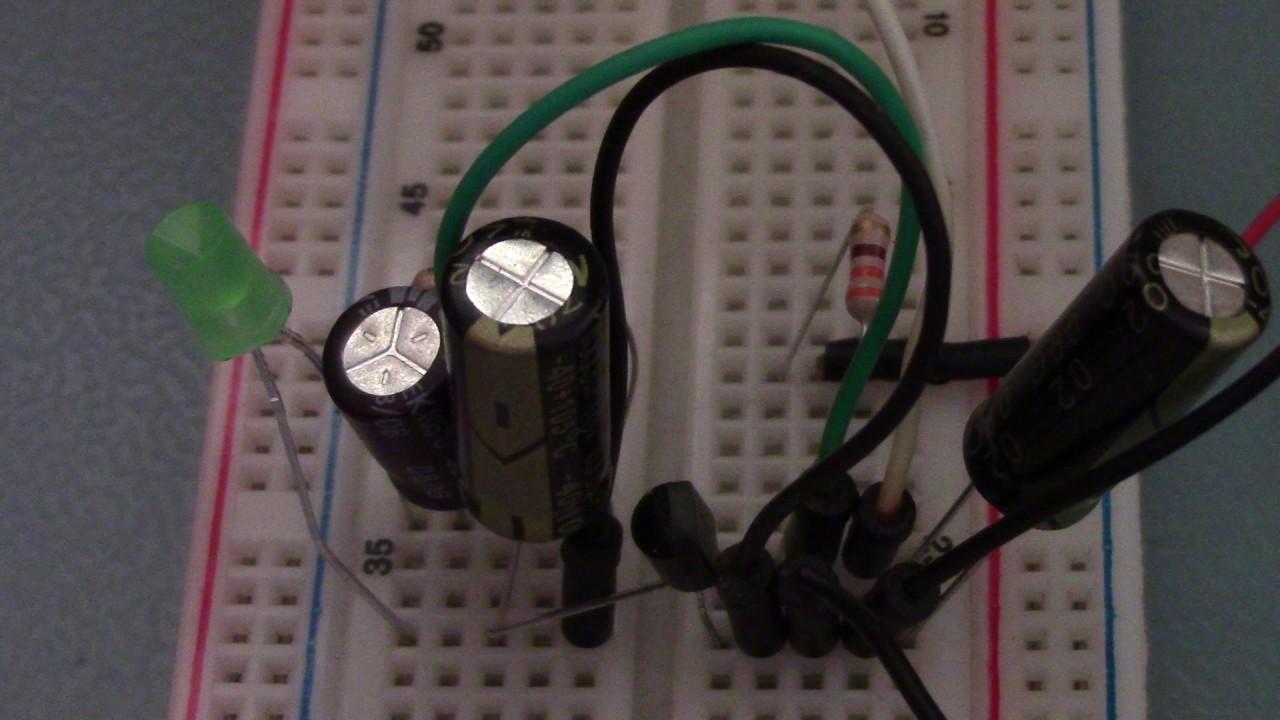Simple negative resistance oscillators