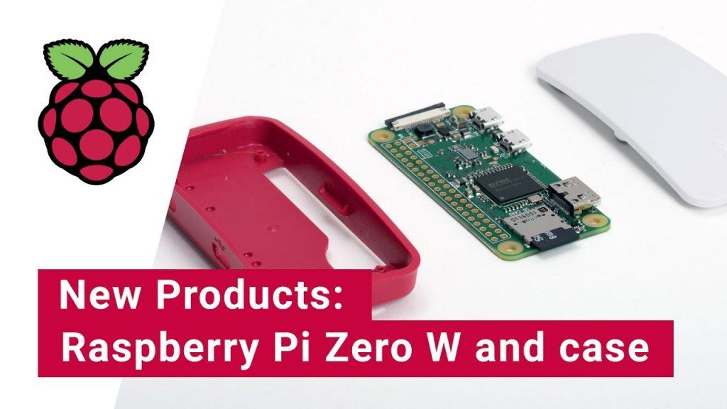 Zero W, New €10 Raspberry Pi with WLAN and Bluetooth