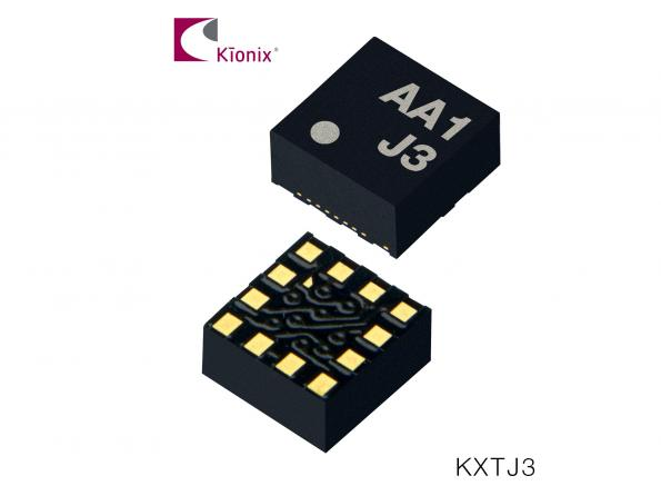 3-axis accelerometer performs wake-up in consumer designs