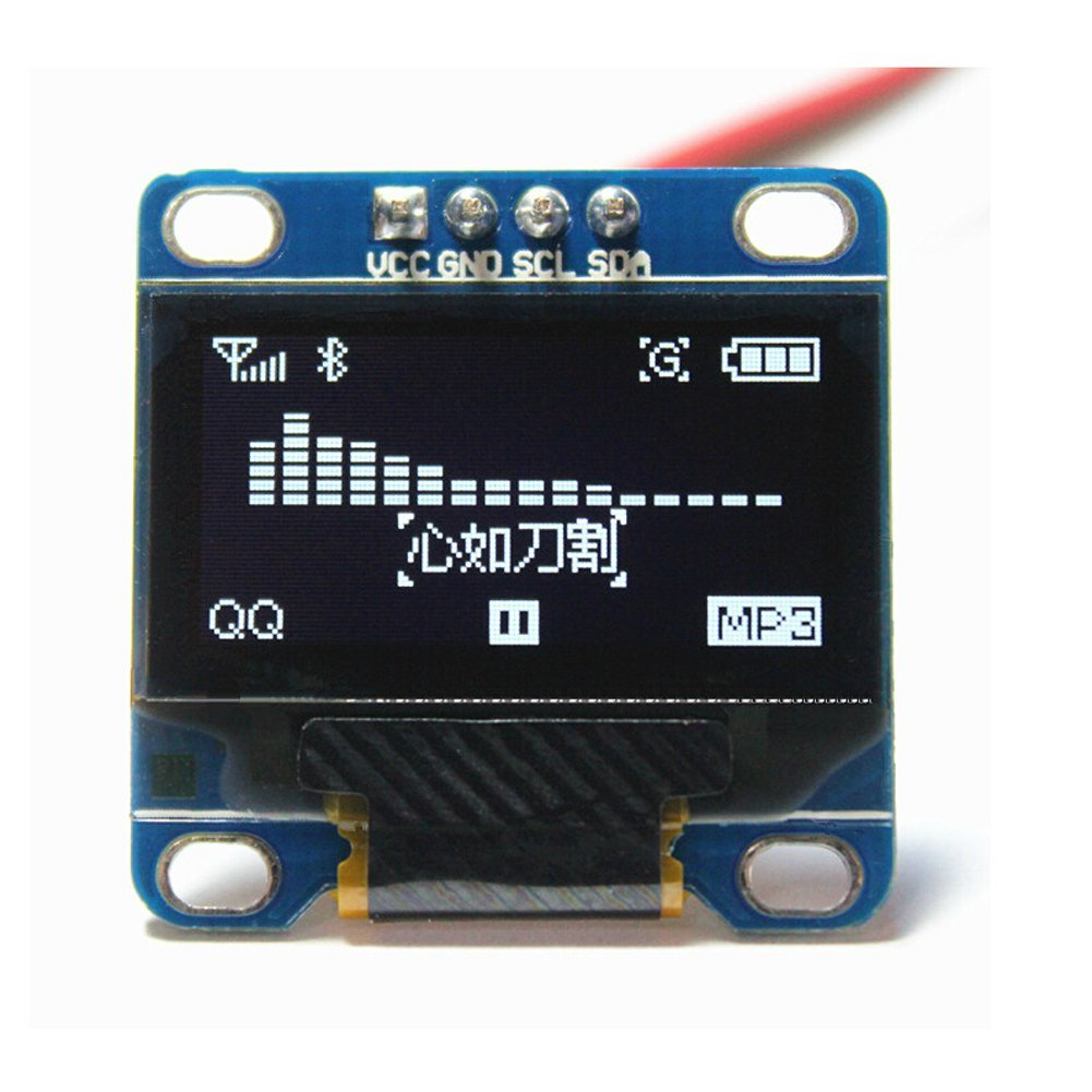 Using I2C SSD1306 OLED Display With Arduino - Electronics-Lab