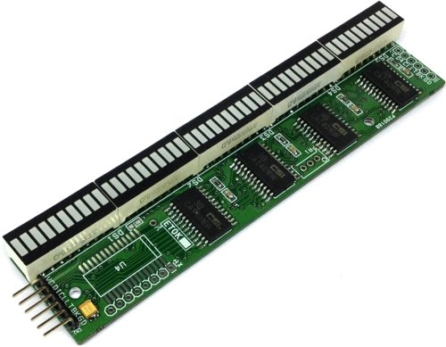 50 Segment Serial Bar-Graph Display Driver