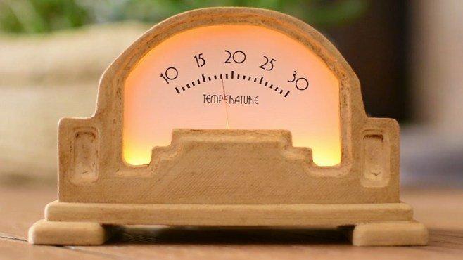 Arduino analogue thermometer