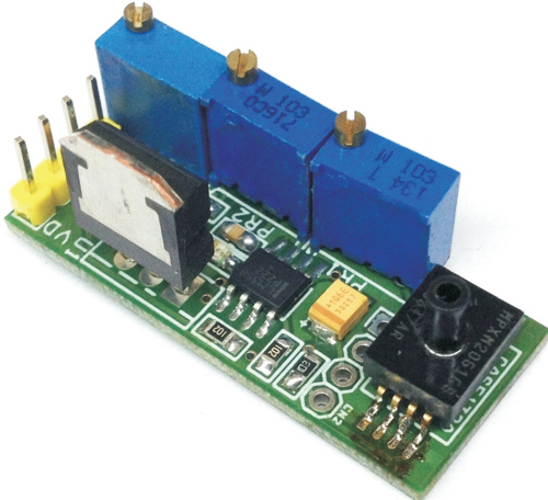 Simple Pressure Sensor Amplifier & Over Pressure Switch