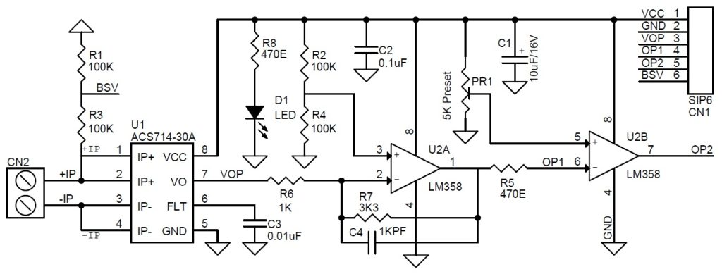 current sensor amplifier  u0026 over current switch