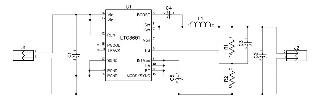 3.3V @ 1.5A Buck Regulator