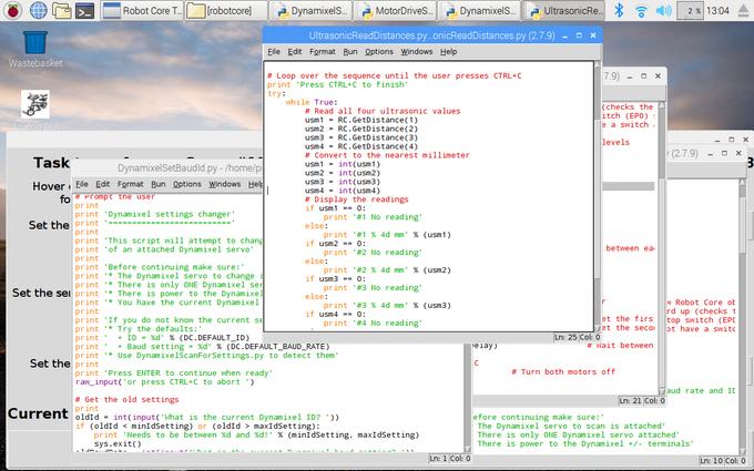 The Robot Core Python Script