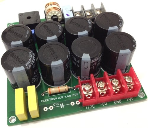 400V – 5A Power Supply For Brushless Motor Drivers